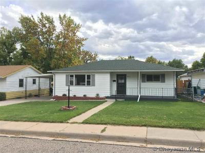 Cheyenne WY Single Family Home Temp Active: $265,000