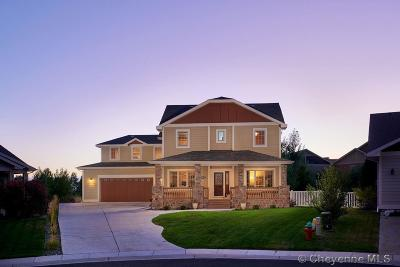 Cheyenne WY Single Family Home Temp Active: $635,000