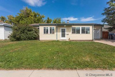 Cheyenne WY Single Family Home Temp Active: $219,000