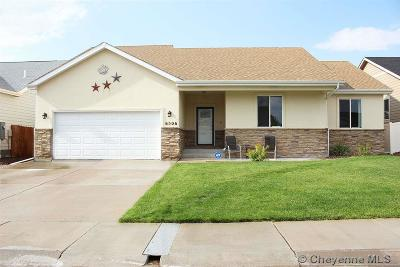 Cheyenne WY Single Family Home Temp Active: $375,000