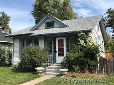 Cheyenne Single Family Home For Sale: 2813 Bent Ave