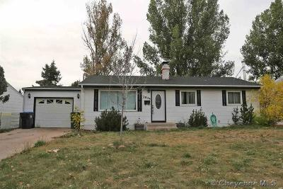 Cheyenne Single Family Home For Sale: 3935 E 10th St