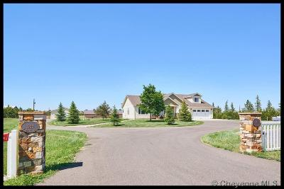 Cheyenne Single Family Home For Sale: 1922 E Riding Club Rd