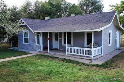 Cheyenne Single Family Home For Sale: 218 W 9th St
