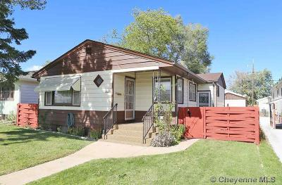 Cheyenne Single Family Home For Sale: 2620 E 11th St