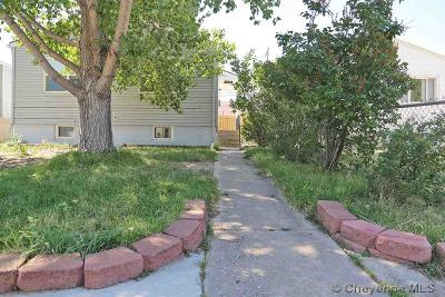 Cheyenne Single Family Home For Sale: 2203 E 16th St