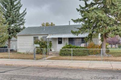 Cheyenne Single Family Home For Sale: 902 W Jefferson Rd