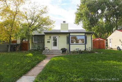 Cheyenne Single Family Home For Sale: 306 Cribbon Ave