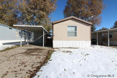 Cheyenne Mobile Home For Sale: 1314 W 18th St #11