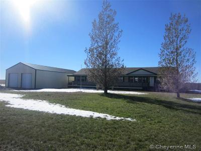 Pine Bluffs Single Family Home Temp Active: 960 Wild Prairie Ln