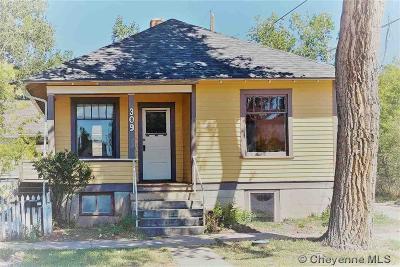 Laramie Single Family Home For Sale: 309 Ord St