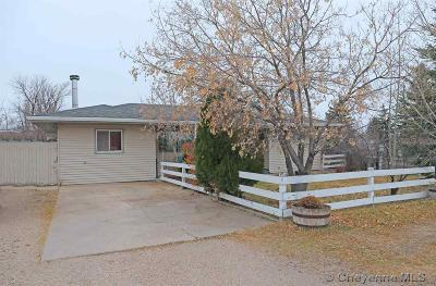 Cheyenne WY Single Family Home For Sale: $220,000