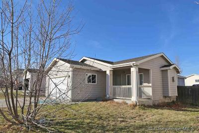 Cheyenne WY Single Family Home For Sale: $244,850
