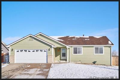 Cheyenne WY Single Family Home Temp Active: $285,000