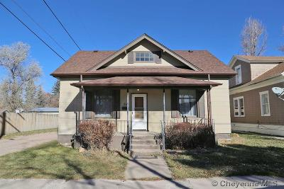 Cheyenne WY Single Family Home For Sale: $145,000