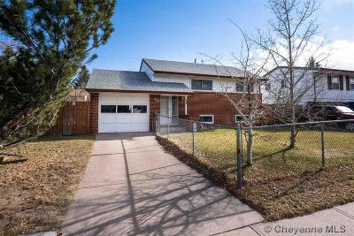 Cheyenne WY Single Family Home For Sale: $188,900