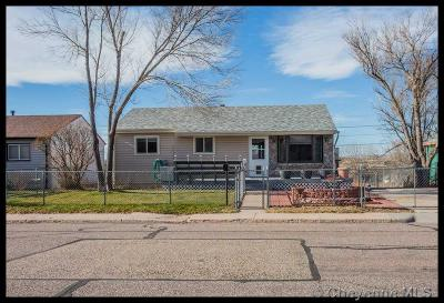 Cheyenne WY Single Family Home Temp Active: $205,000