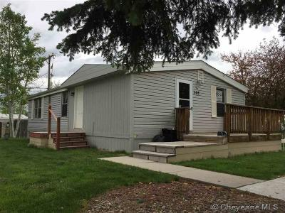Cheyenne Mobile Home For Sale: 508 Lori Rd