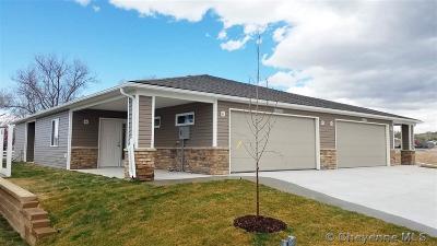 Cheyenne Condo/Townhouse For Sale: 4017 Bradney Ave