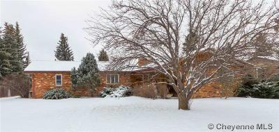 Cheyenne WY Single Family Home Temp Active: $263,000