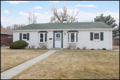 Cheyenne WY Single Family Home For Sale: $325,000
