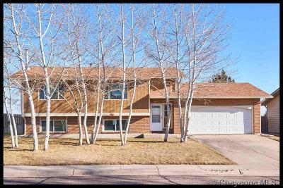 Cheyenne WY Single Family Home For Sale: $254,900