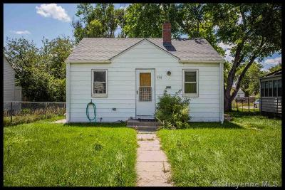 Cheyenne WY Single Family Home For Sale: $154,900