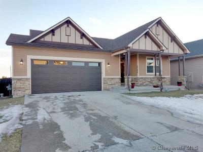 Cheyenne WY Single Family Home Temp Active: $345,000