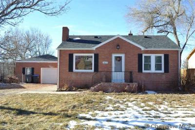 Cheyenne WY Single Family Home For Sale: $219,000