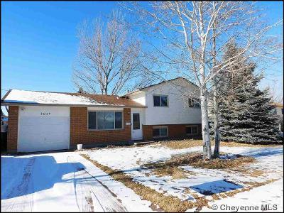 Cheyenne WY Single Family Home Temp Active: $224,900