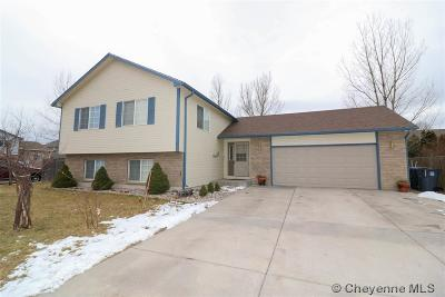 Cheyenne WY Single Family Home Temp Active: $260,000
