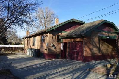 Cheyenne WY Single Family Home For Sale: $203,900