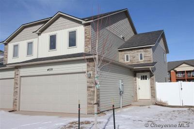 Laramie Condo/Townhouse For Sale: 4124 Plateau Ct