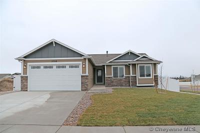 Cheyenne WY Single Family Home For Sale: $299,900