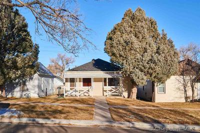 Cheyenne WY Single Family Home Temp Active: $180,000