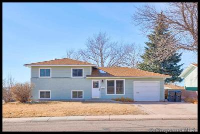 Cheyenne WY Single Family Home For Sale: $240,000