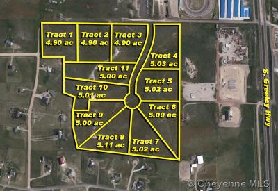 Cheyenne Residential Lots & Land For Sale: Tr 4 Badlands Dr