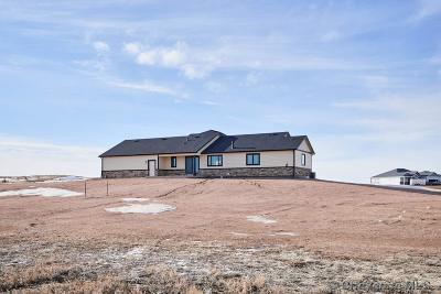 Cheyenne Single Family Home For Sale: 1565 Star Pass Rd