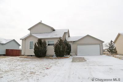 Cheyenne WY Single Family Home For Sale: $245,000