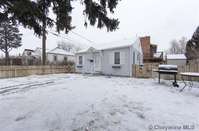 Cheyenne WY Single Family Home For Sale: $128,500