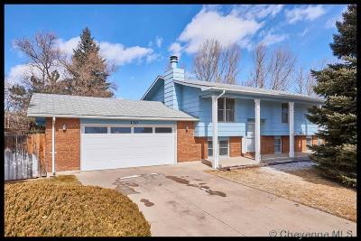 Cheyenne WY Single Family Home Temp Active: $275,000