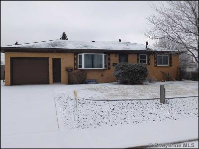Cheyenne WY Single Family Home Temp Active: $249,900
