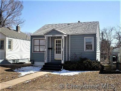 Cheyenne Single Family Home For Sale: 205 E 5th St