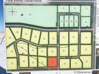 Laramie Residential Lots & Land For Sale: TBD Vista Buttes