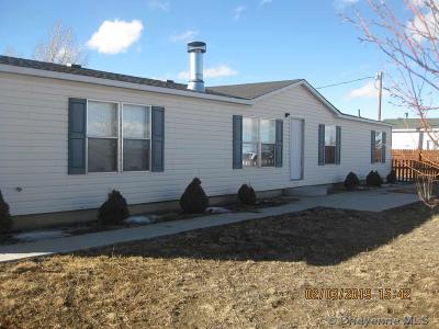 Laramie Single Family Home For Sale: 762 Hwy 230