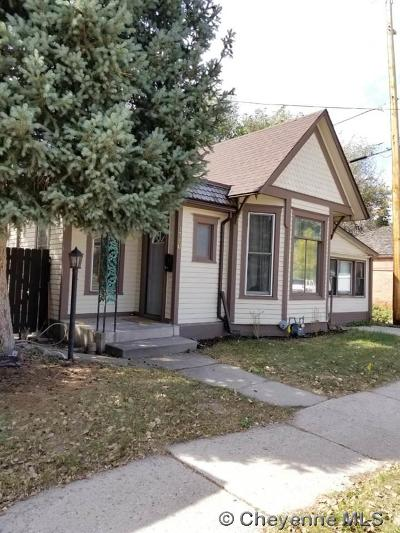 Cheyenne Single Family Home For Sale: 1710 Seymour Ave
