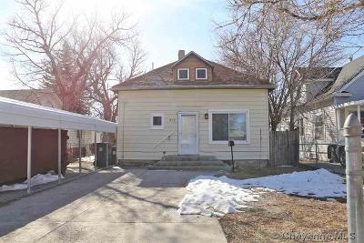 Cheyenne Single Family Home For Sale: 315 E 5th St