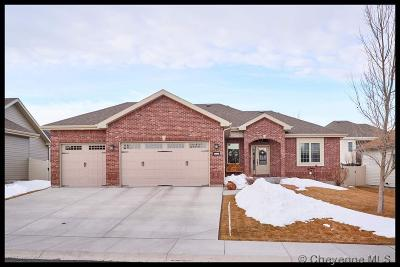 Cheyenne WY Single Family Home For Sale: $489,900
