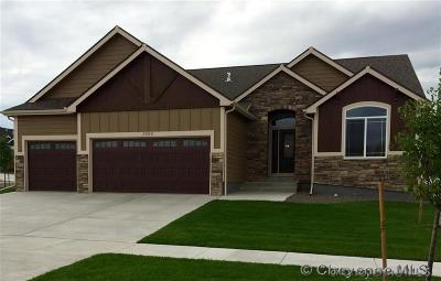 Cheyenne WY Single Family Home For Sale: $397,500