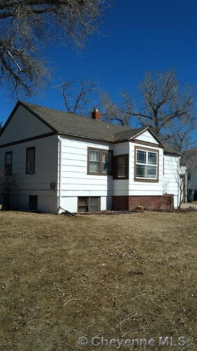 Cheyenne WY Single Family Home For Sale: $190,000